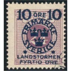 Sverige 121v1 stämplad
