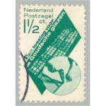 Nederländerna 43 stämplad