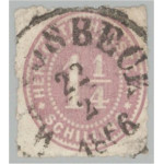 Schleswig Holstein 20 stämplad