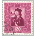 Liechtenstein 276 stämplad