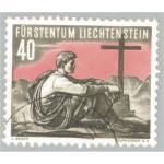 Liechtenstein 337 stämplad