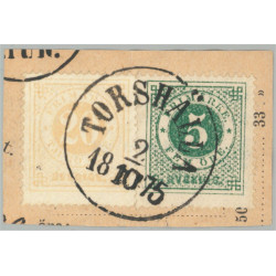 Sverige 22f+19f TORSHÄLLA 2.10.1875