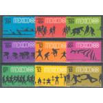 Mexico 1236-1244 **