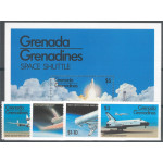 Grenada Grenadines 470-473 + block 59 **