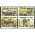 Gabon 1009-1012 **