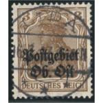 Postgebiet Oberbefehlshaber Ost 2 stämplad