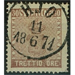 Sverige 11 HJO 11.6.1871