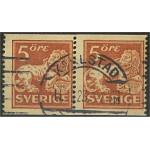 Sverige 142Ea stämplat par