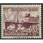 Tyska Riket 659x stämplad