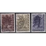 Liechtenstein 371-373 stämplade