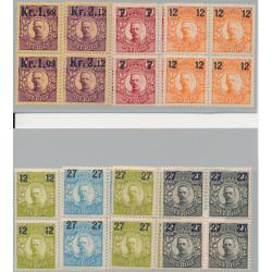 Sverige 97-104 ** 4-block serie