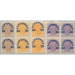 Sverige 136-138 ** 4-block serie