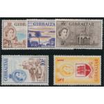 Gibraltar 143-147 **