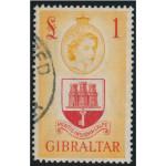Gibraltar 147 stämplad