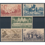 Liechtenstein 202-206 *