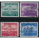 Estland 148-151 stämplade