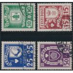 Estland 127-130 stämplade