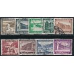 Tyska Riket 634-642 stämplade