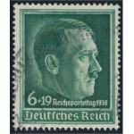 Tyska Riket 672 stämplad