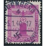 Tyska Riket D154 stämplad