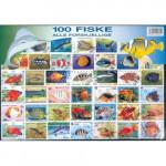 100 olika fiskar