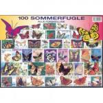 100 olika fjärilar