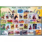 100 olika hästar
