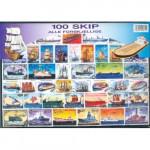 100 olika skepp & båtar