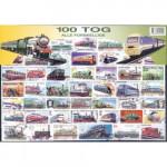 100 olika järnväg
