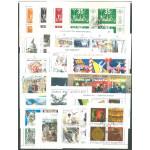 20 olika stämplade svenska block