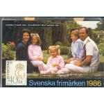 Sverige årssats 1986