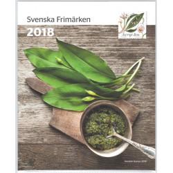 Sverige årssats 2018
