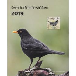 Sverige Postens årssats häften 2019