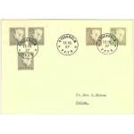 Sverige FDC 1957-10-15