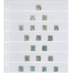 Transparenta blad 7 fickor, 10-pack