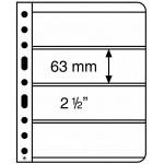 Leuchtturm Vario blad 4S svarta 4 fickor, 5-pack