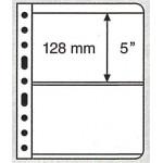 Leuchtturm Vario blad 2S svarta 2 fickor, 5-pack